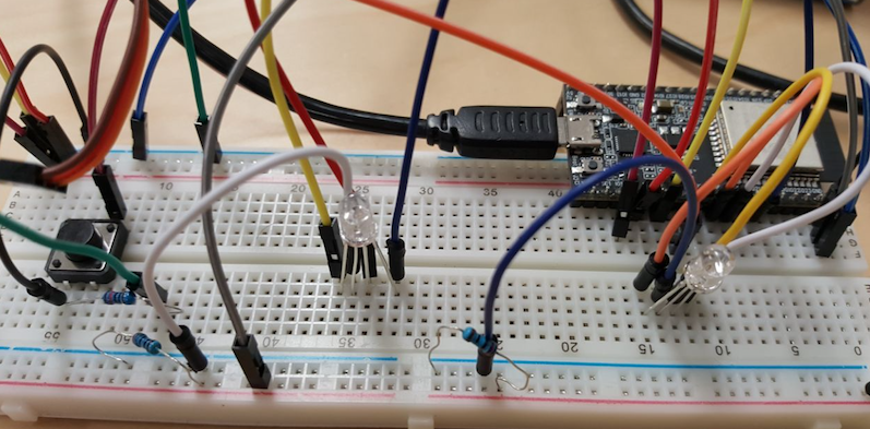 "Pomodoro with ESP32  One ""The Melee – Side by side"" project"